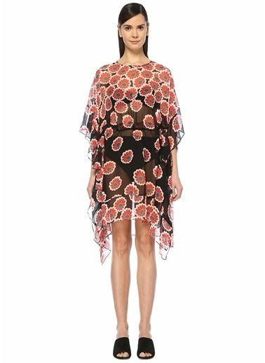 Diane Von Furstenberg Plaj Elbisesi Kırmızı